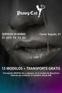 Eres de Barcelona? 80€  cita con escort + transporte